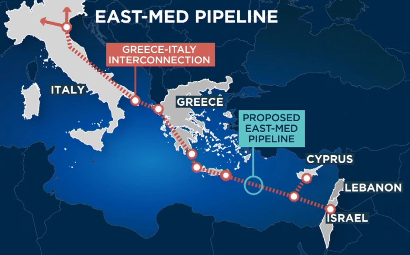 Greece, Cyprus and Israel Sign Agreement to Build East Med Gas Pipeline, Turkey Left Out