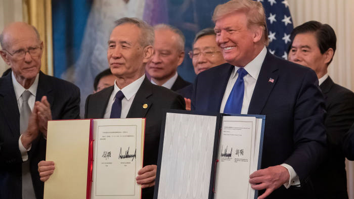 US-China Economic War Continues Despite Phase One Trade Agreement Signed