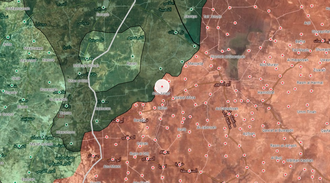 Syrian Army Launches Attack In Southeast Idlib To Recapture Abu Jurayf