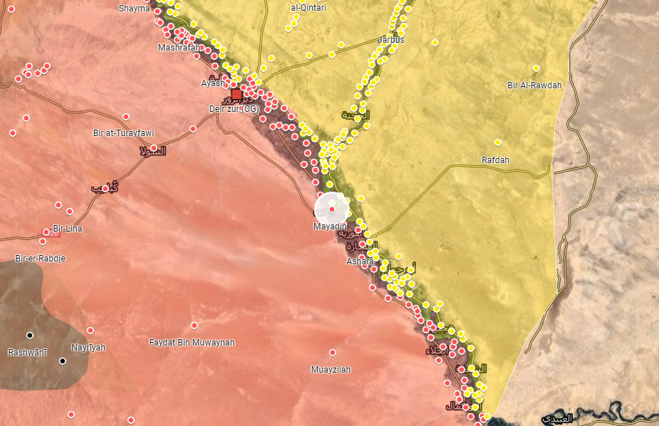 Iranian-Backed Forces Relocate Headquarters In Southern Deir Ezzor – Report