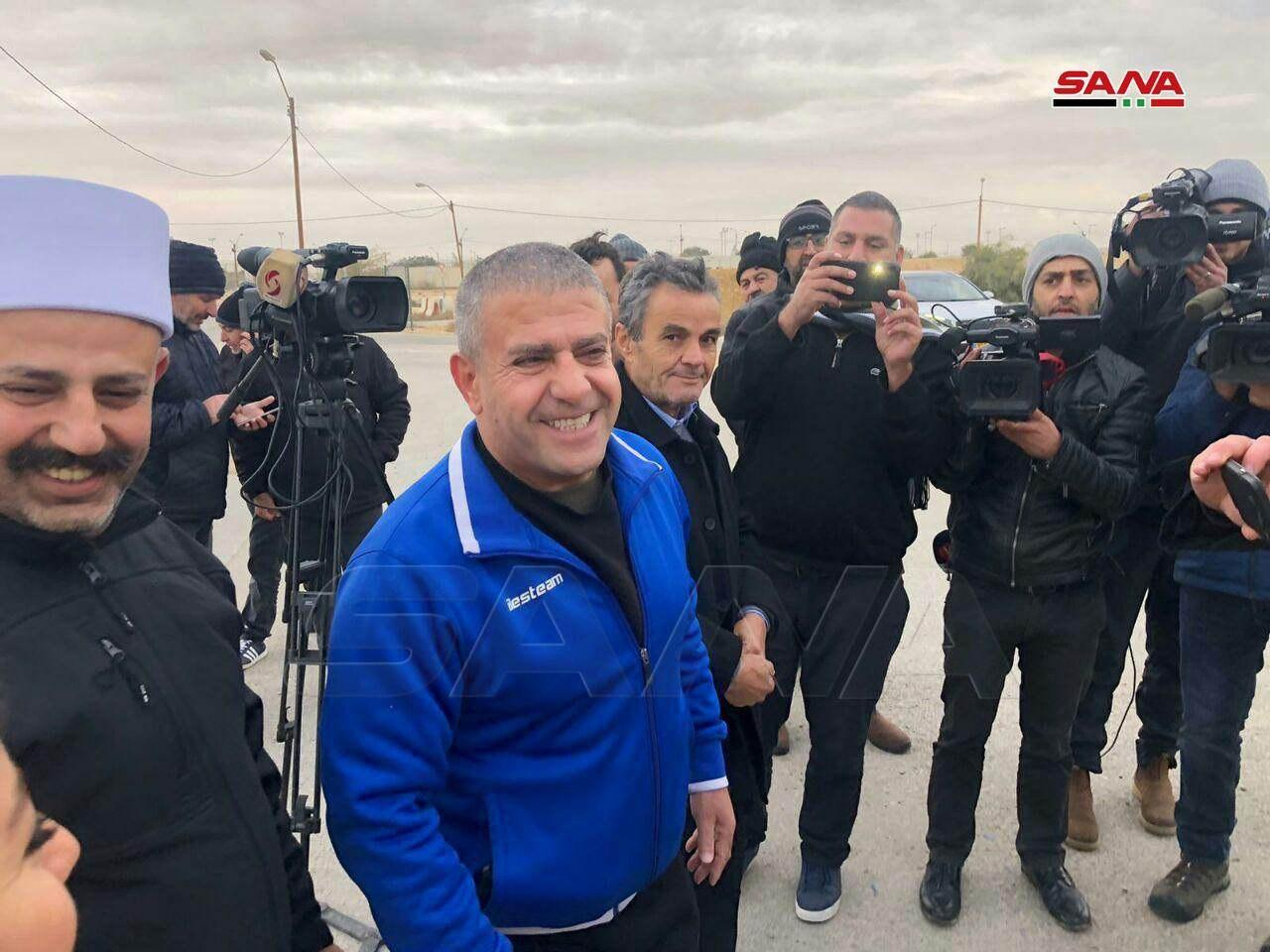 """Israel Releases Two Syrian Prisoners As """"Goodwill Gesture"""" To Damascus (Photos)"""