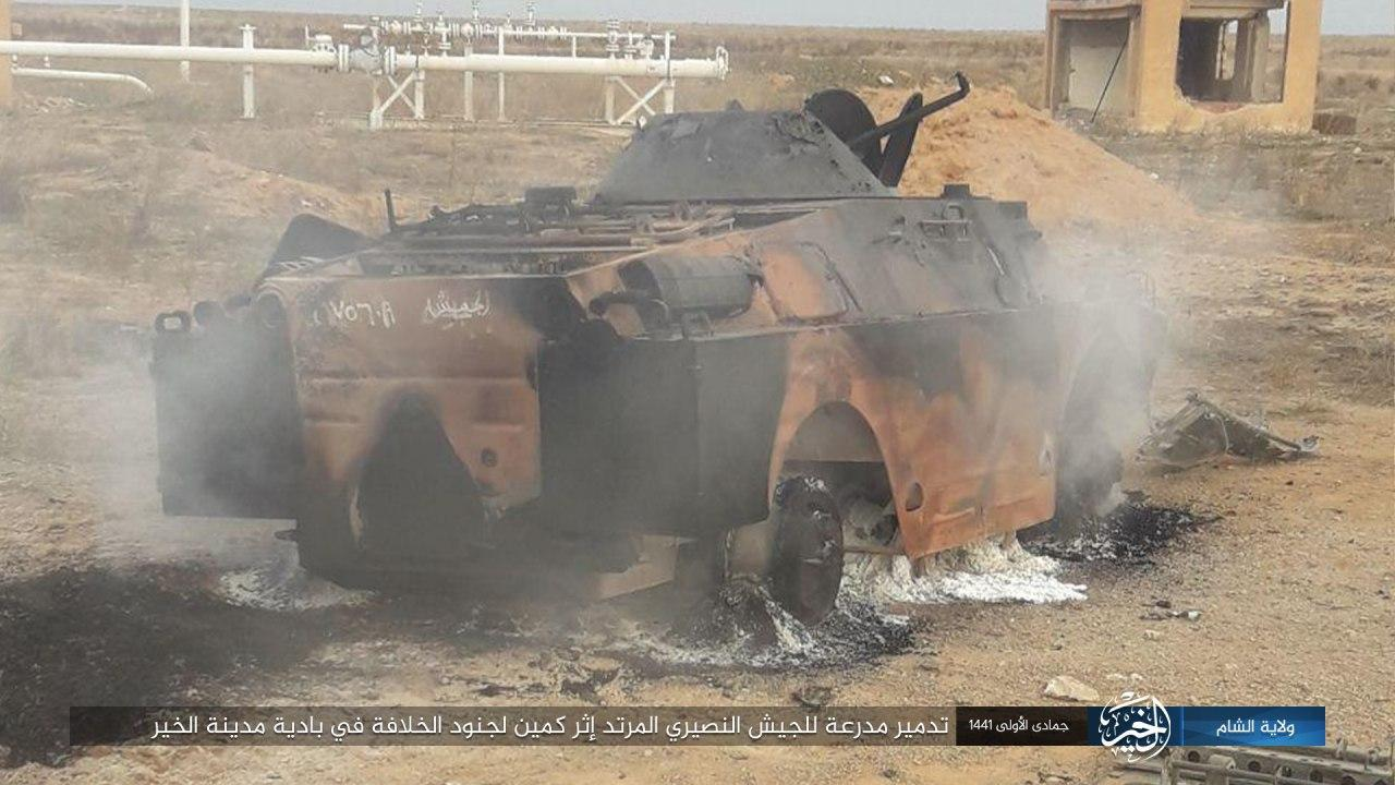 ISIS Cells Inflict Heavy Losses On Syrian Army In New Deir Ezzor Ambush (Photos)