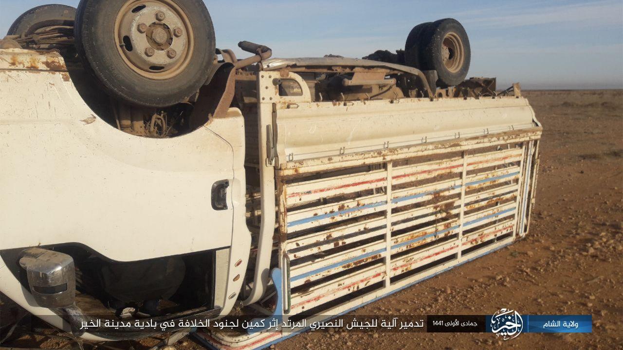 ISIS Buniek Spôsobiť Ťažké Straty Na Sýrskej Armády V New Deir Ezzor Zálohe (Fotografie)