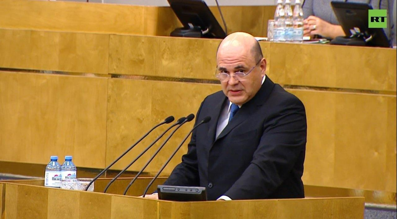 Mikhail Mishustin Appointed As Prime Minister, Following Vote By Russian Parliament
