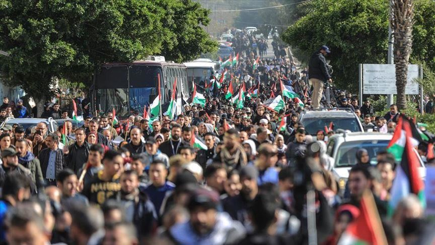 """Protests Ramp Up In Gaza And Jordan Following """"Deal Of The Century"""" Announcement"""