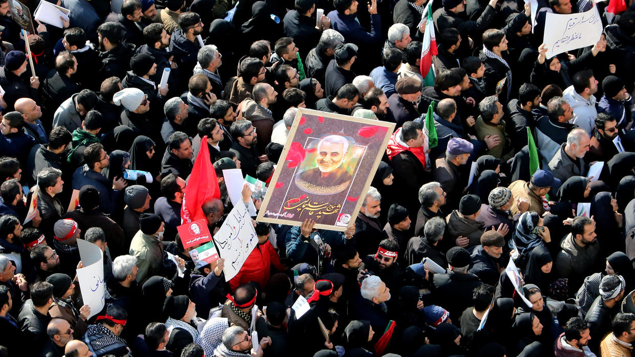 Memorial For Soleimani And Other Officers Assassinated By U.S. To Be Created At Baghdad International Airport