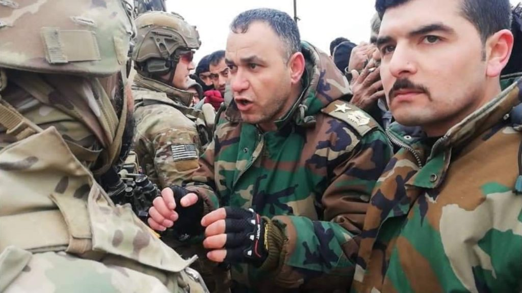 Syrian Army Stops US Military Patrol, Forces It To Turn Back (Photos)