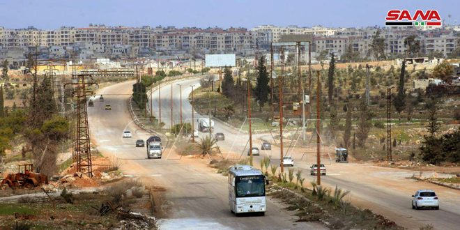 Syrian Government Officially Reopened Damascus-Aleppo Highway