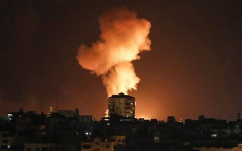 Netanyahu Threatens All-Out War After 90 Rockets Fired From Gaza