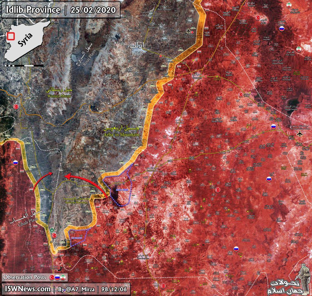 Turecko-led Sily Utekajú Z Južnej Idlib. Kafr Nubl Je V Rukách Sýrskej Armády (Aktualizácia Máp)