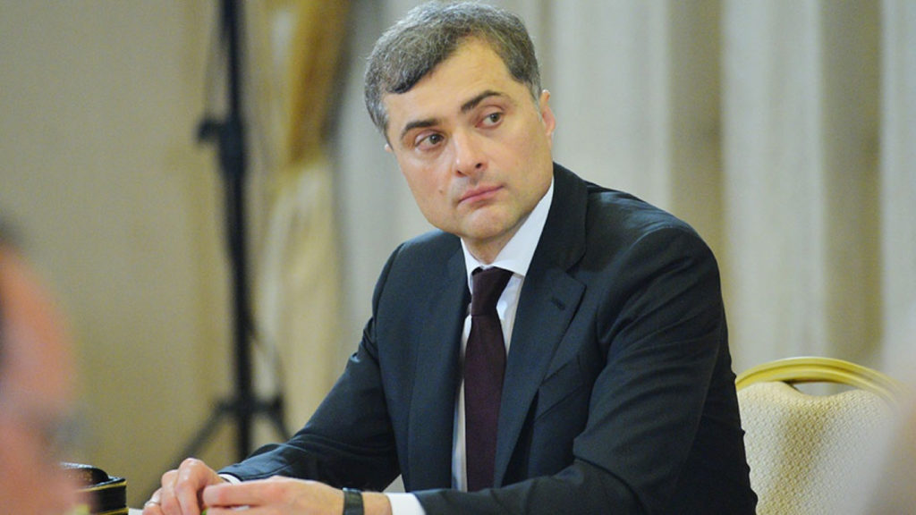 Surkov: I Find It Interesting to Act Against the Actual Order of Things