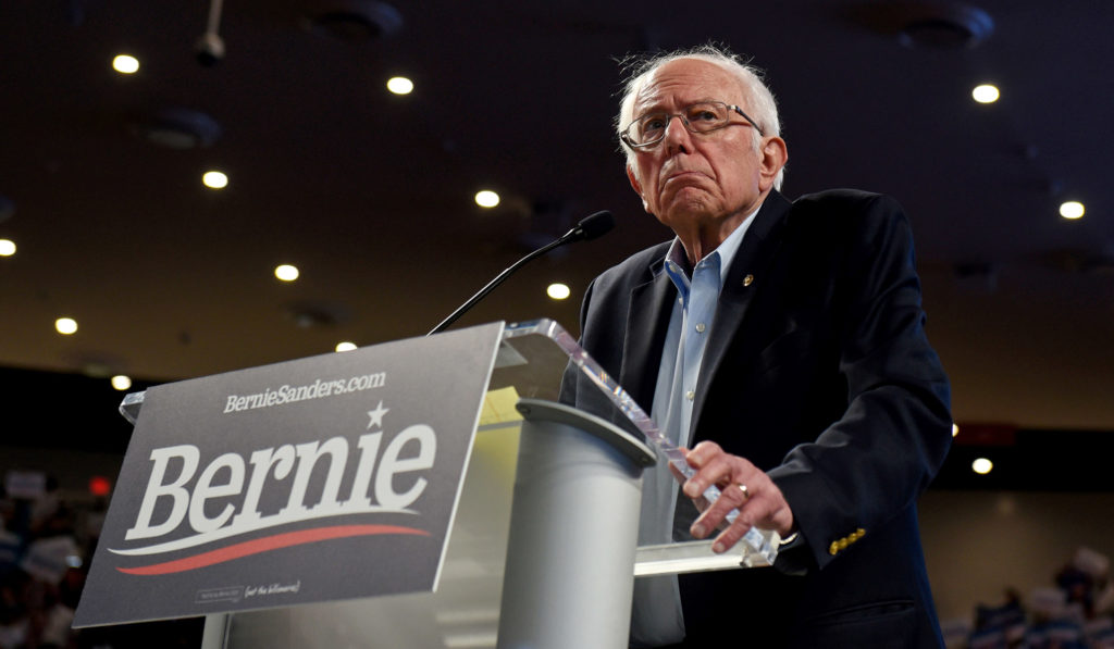 Sanders Has Now Become the Boogeyman