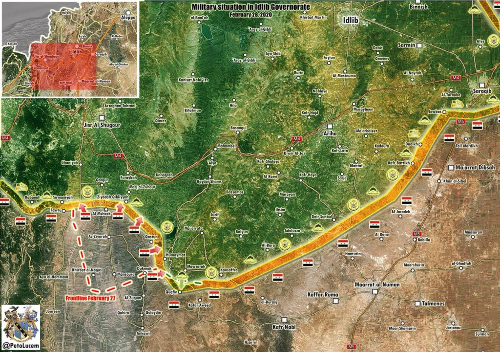 Syrian Forces Cleared Al-Ghab Plain Of Turkish-backed Militants (Map Update)