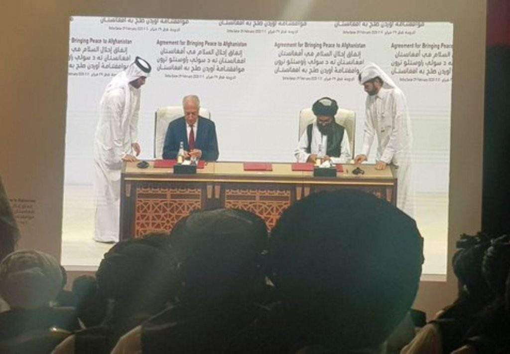 US, Taliban Sign Afghan Peace Agreement In Doha