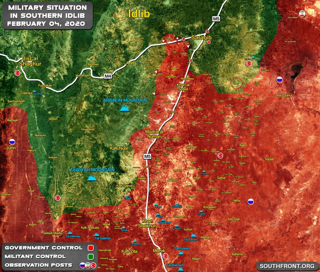 Syrian Army Kicks Off Offensive West Of Abu al-Duhur, Makes First Gains (Map Update)