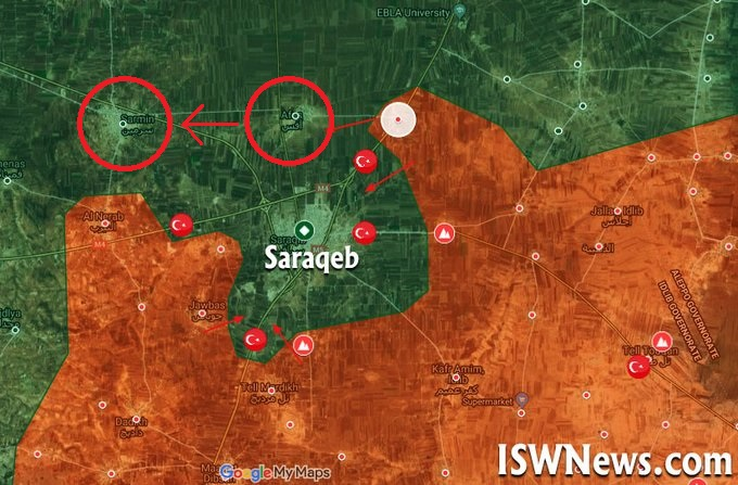 Tiger Forces Liberate Asf And Saramin Fully Encircling Saraqib (Videos)