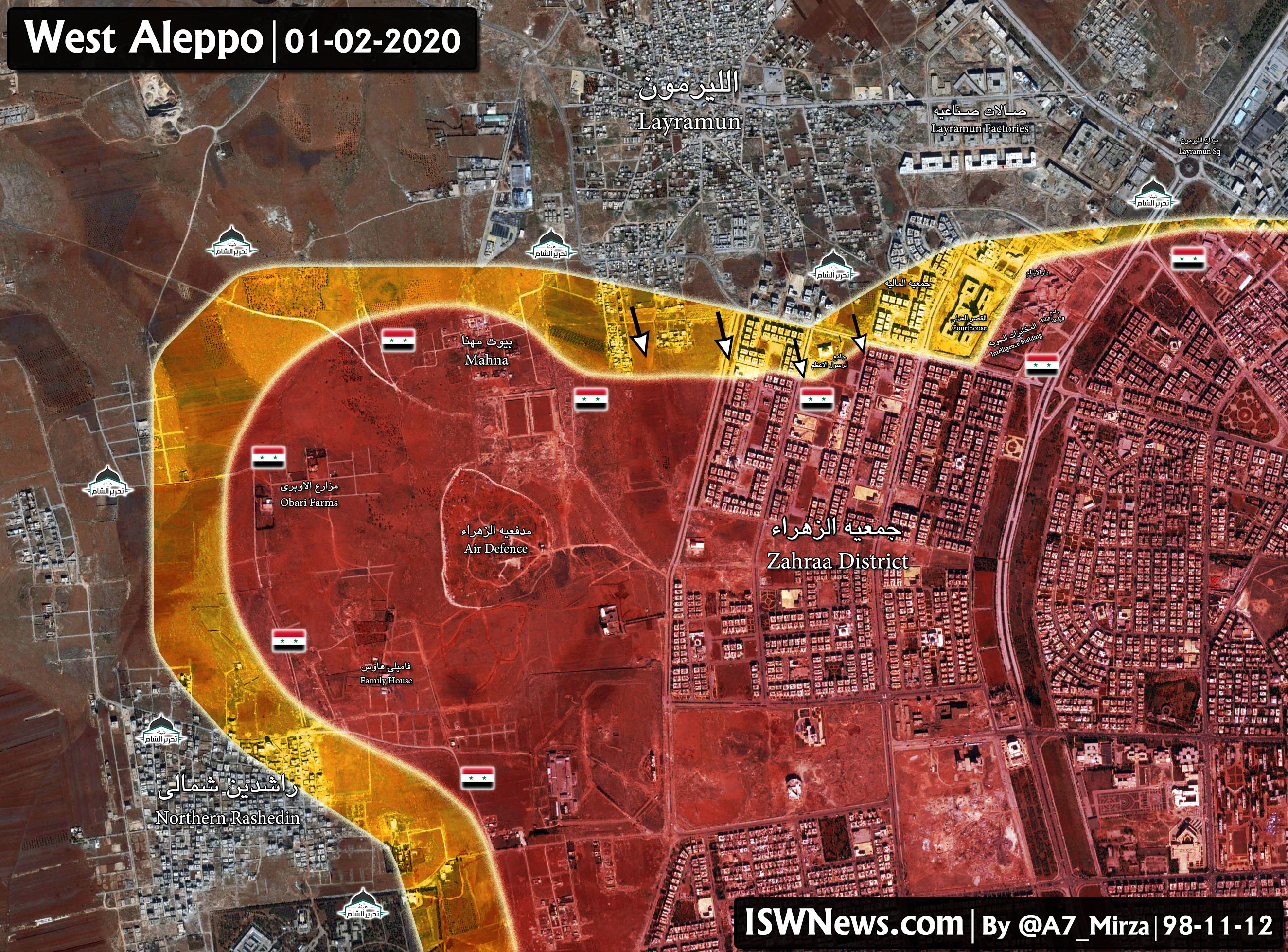 Syrian Army Repels Al-Julani-Initiated Attack On Aleppo City (Photos)