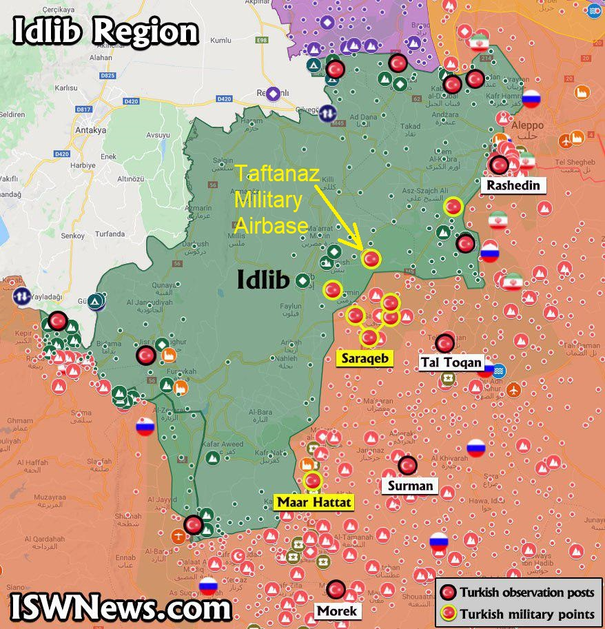 A Lesson in Idlib Geography, And How to Properly Play Victim