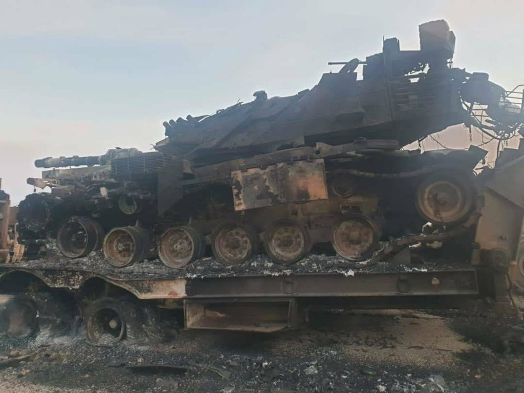 In Photos: Turkish Tanks, Other Equipment Destroyed By Syrian Army Strikes