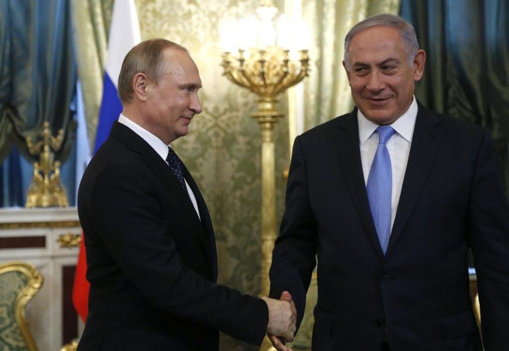 Putin Backs Netanyahu Yet Again While the Middle East Burns