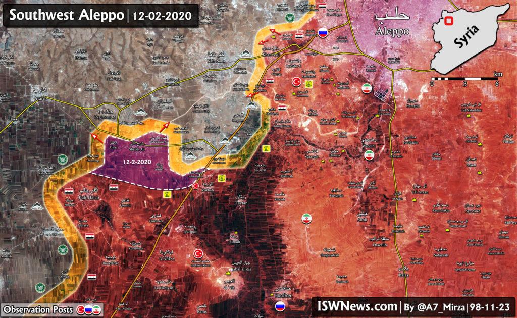4 Viac Obcí Patria Do Rúk Sýrskej Armády V Juhozápadnej Aleppo (Aktualizácia Máp)