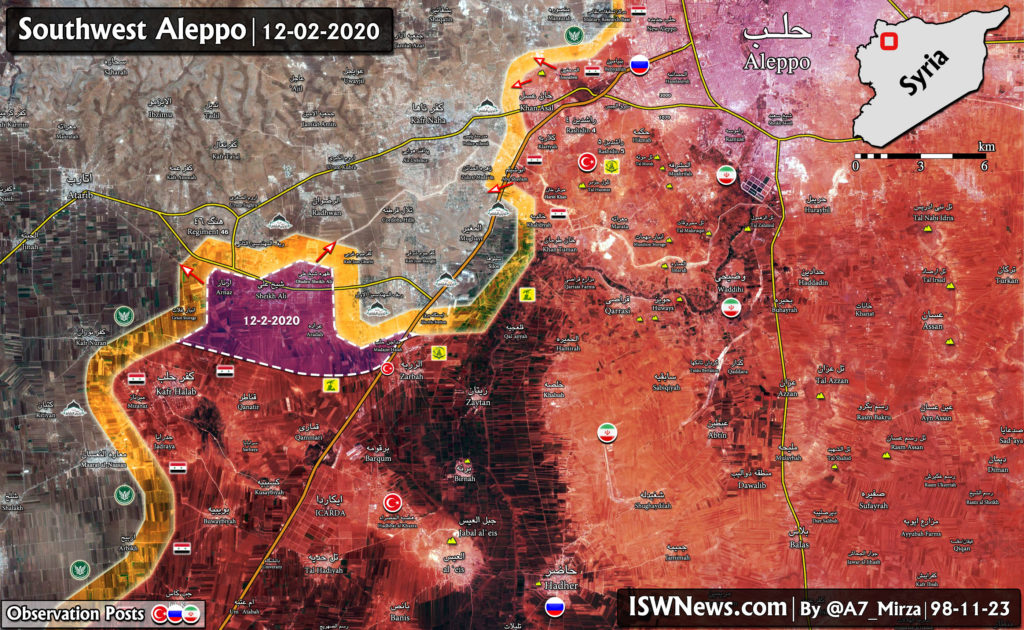 4 More Villages Fall Into Hands Of Syrian Army In Southwestern Aleppo (Map Update)