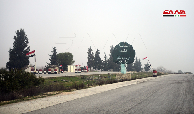 In Photos: Syrian Government Clearing And Restoring Recently Liberated Parts Of Aleppo-Damascus Highway