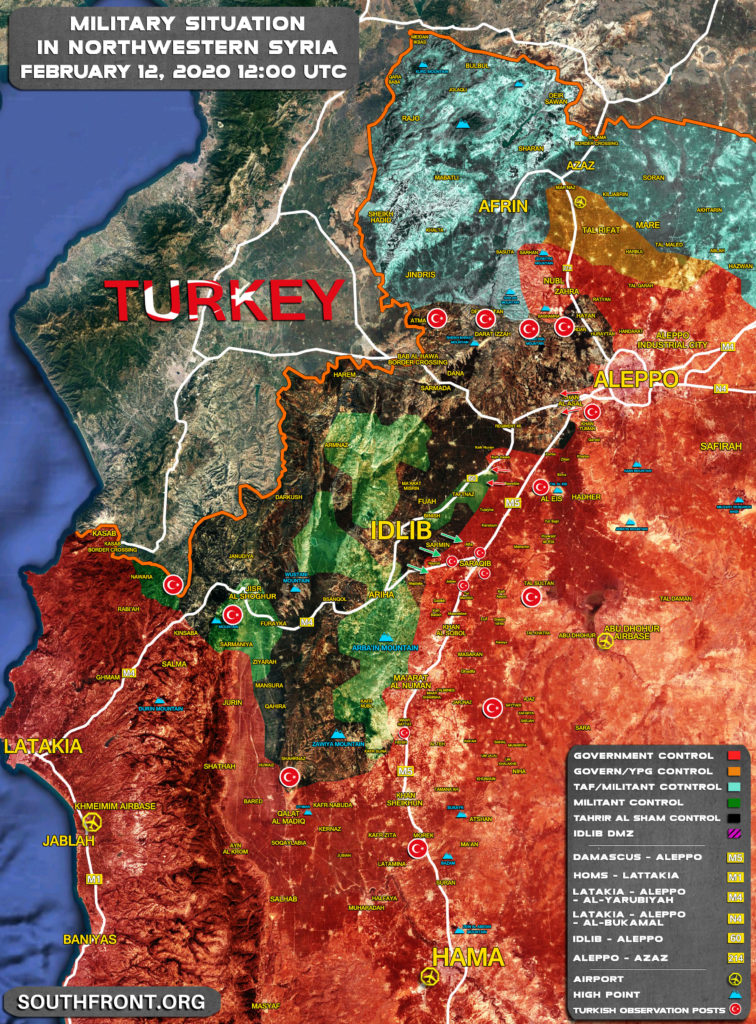 Syrian Army Is Storming Khan Nuran In Western Aleppo (Map Update)