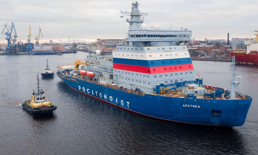 """Реакция в Норвегии на намерение России заложить четвертый ледокол проекта 22220, типа """"Арктика"""""""