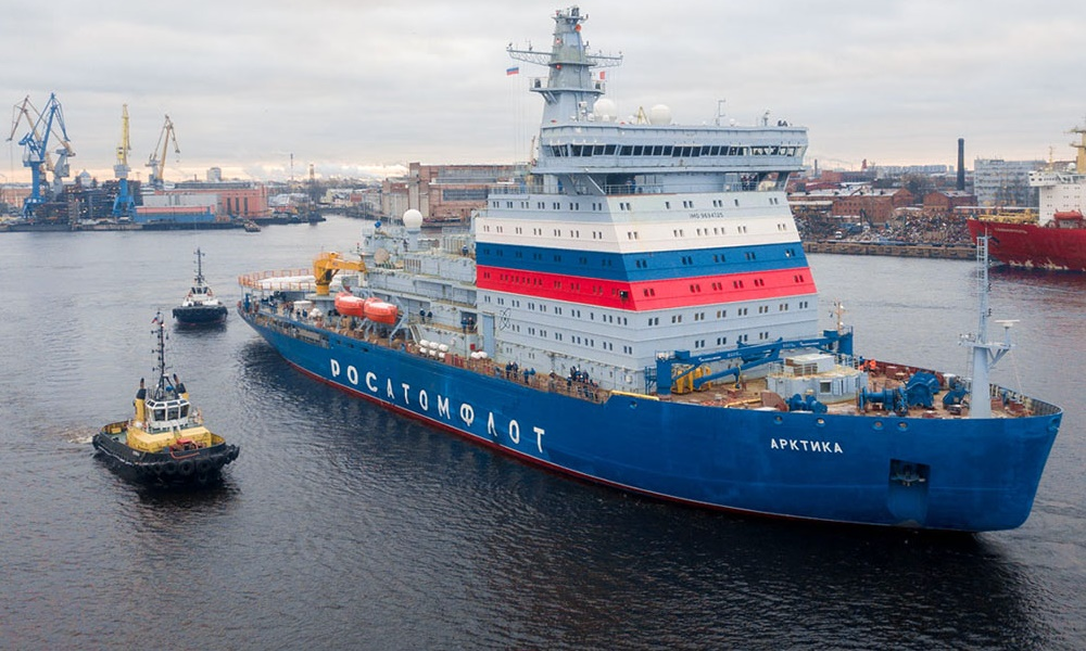 Russia's Project 22220 Nuclear-Powered Icebreaker Arktika To Be Delayed Again