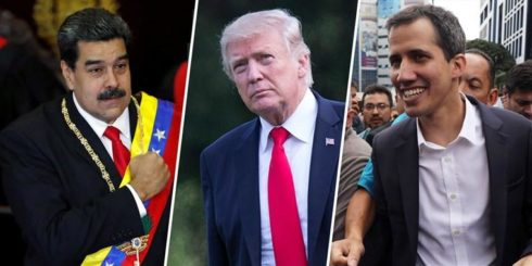 """Trump Not Giving Up On """"Military Options"""" For Maduro's Ouster, Considers Naval Blockade"""