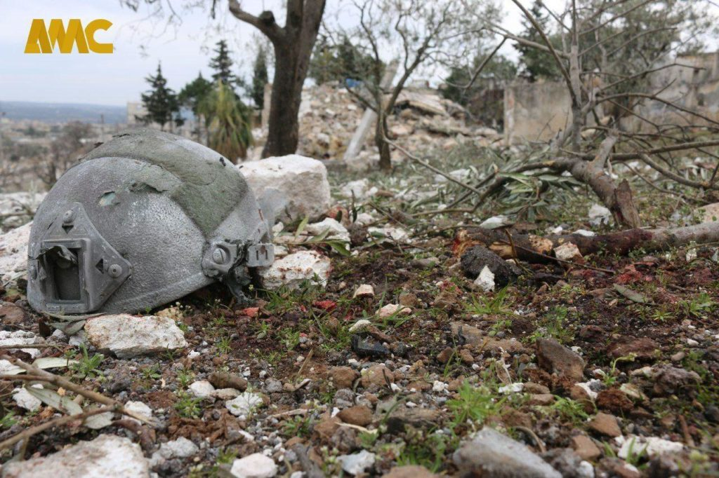 In Photos: Impact Site Of Strikes On Turkish Forces In Eastern Idlib