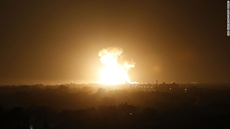 More Rockets Fired At Israel Following Escalation In The Gaza Strip