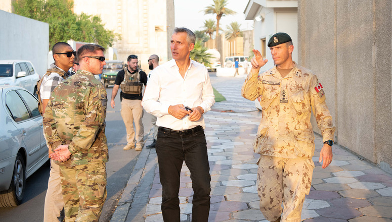 NATO To Enhance Its Mission in Iraq: Secretary General