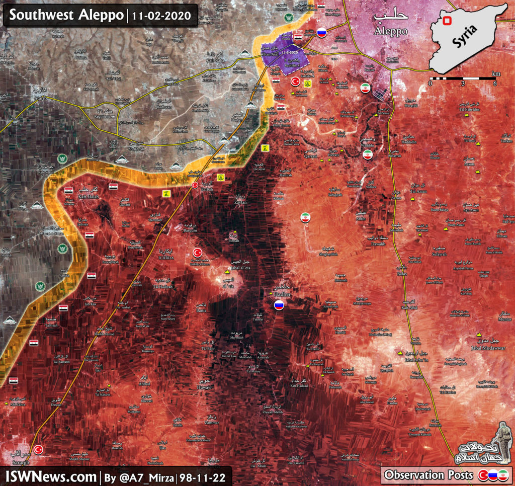 MIlitants Are On Retreat In Western Aleppo. Syrian Army Liberates Khan Asal (Map Update)