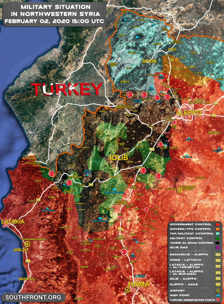 8 Turkish Personnel Killed, Several Others Injured In Syrian Army's Ongoing Offensive In Idlib Zone (UPDATED)