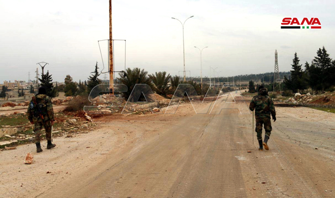 Syrian Troops Remove IEDs And Mines Planted By Militants On Damascus-Aleppo Highway (Photos)