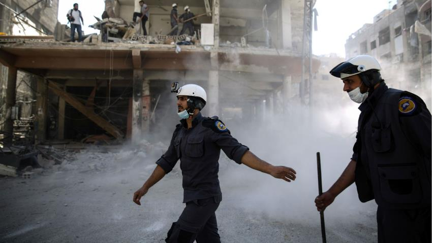 White Helmets Preparing A False Flag Chemical Attack Near Aleppo: Russian Reconciliation Center