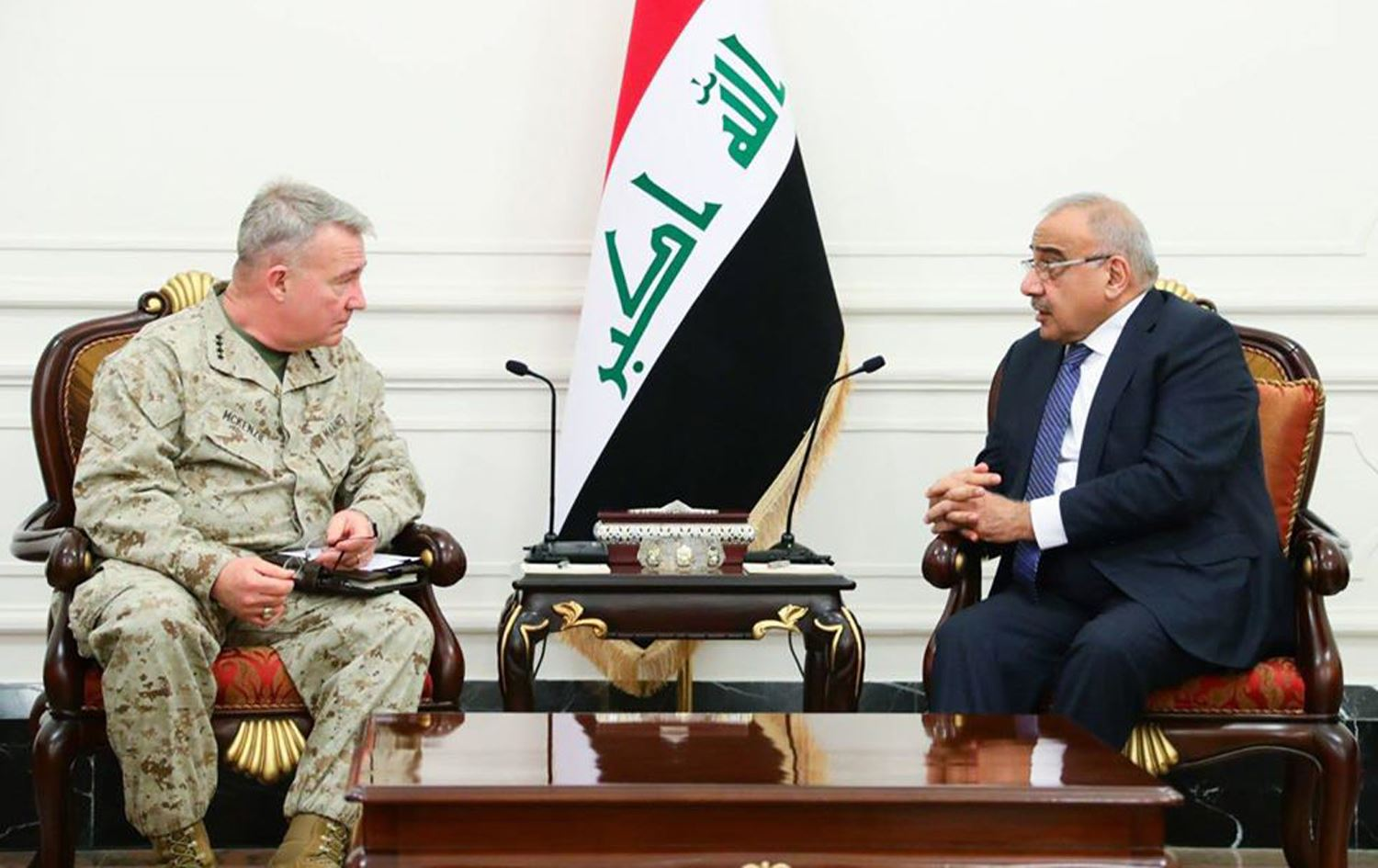 US CENTCOM Commander Visited Iraq In Attempt to Mend Relations