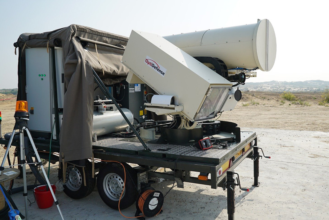 Israel Successfully Tested Its Anti-Explosive Balloon Laser System