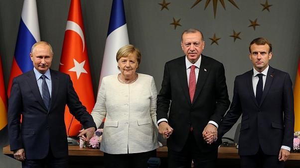 Merkel And Macron Agree To A Meeting On Idlib With Putin and Erdogan