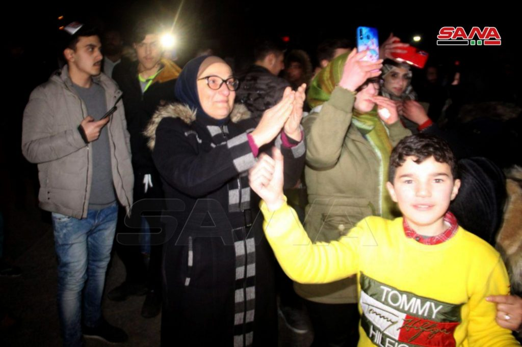 In Photos: People Celebrating Liberation Of Western Aleppo From Militants