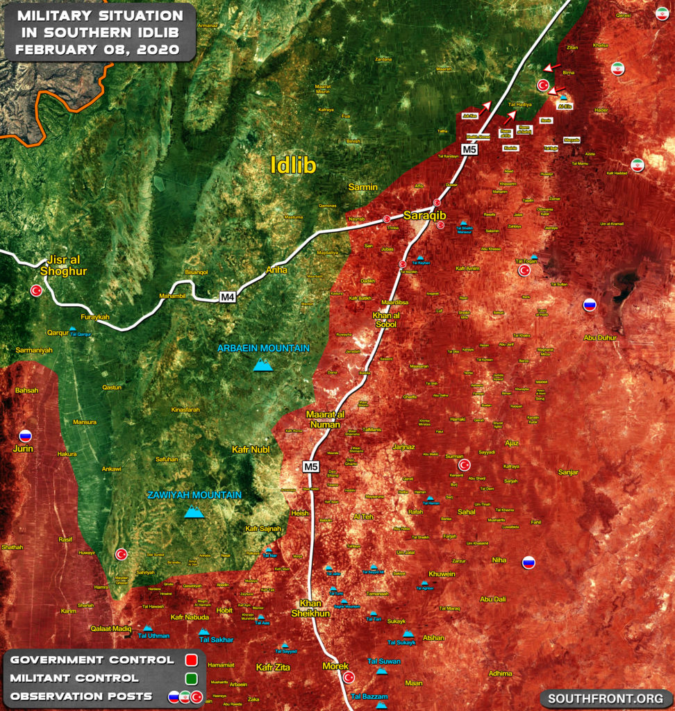 Military Situation In Idlib Province Following Liberation Of Al-Eis (Map Update)