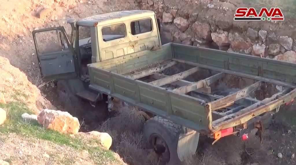 In Photos: Military Equipment And US-made Ammunition Captured By Syrian Army In Idlib