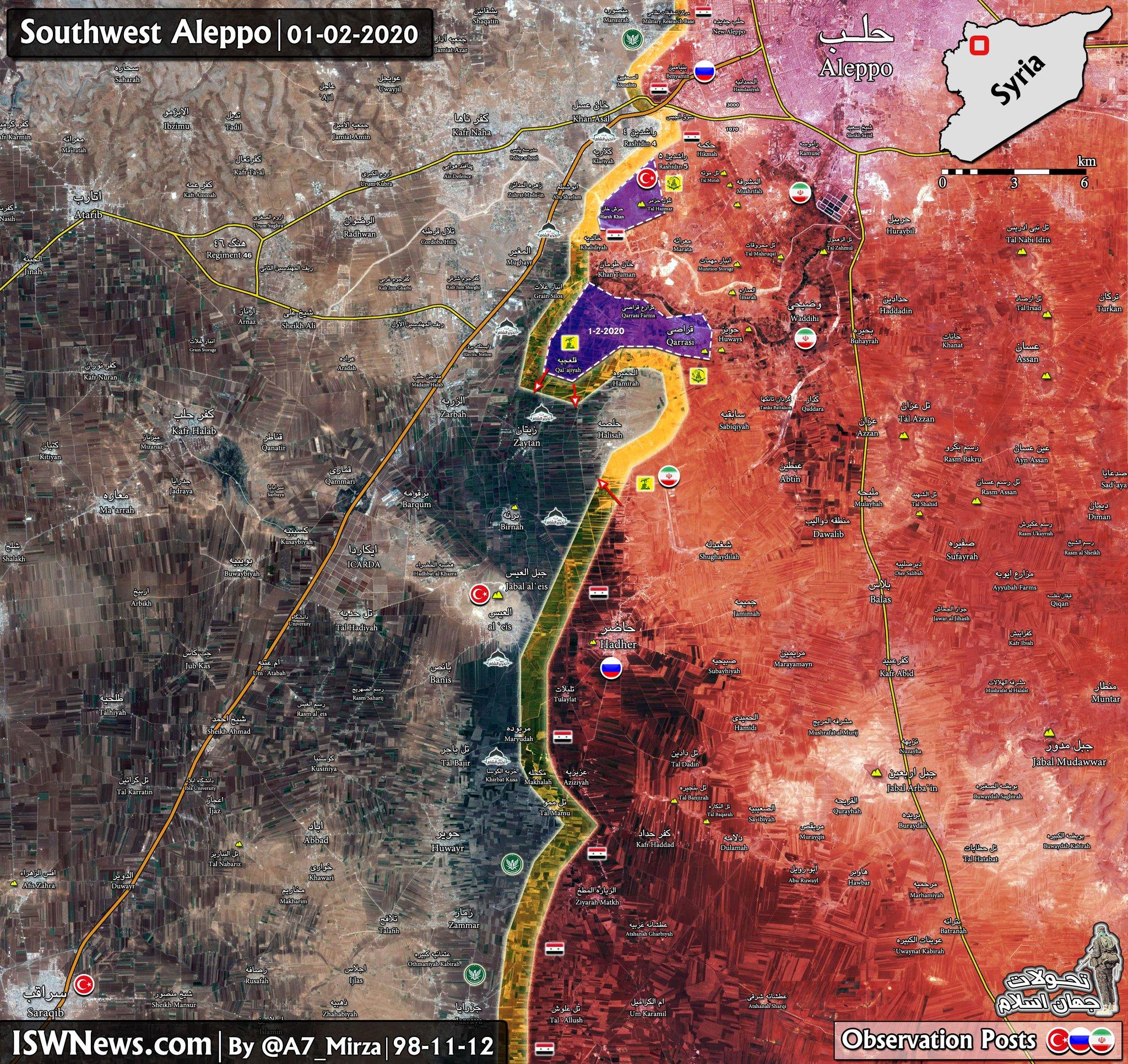Sýrska Armáda Zabezpečuje Dva Nové Mestá V Juhozápadnej Aleppo