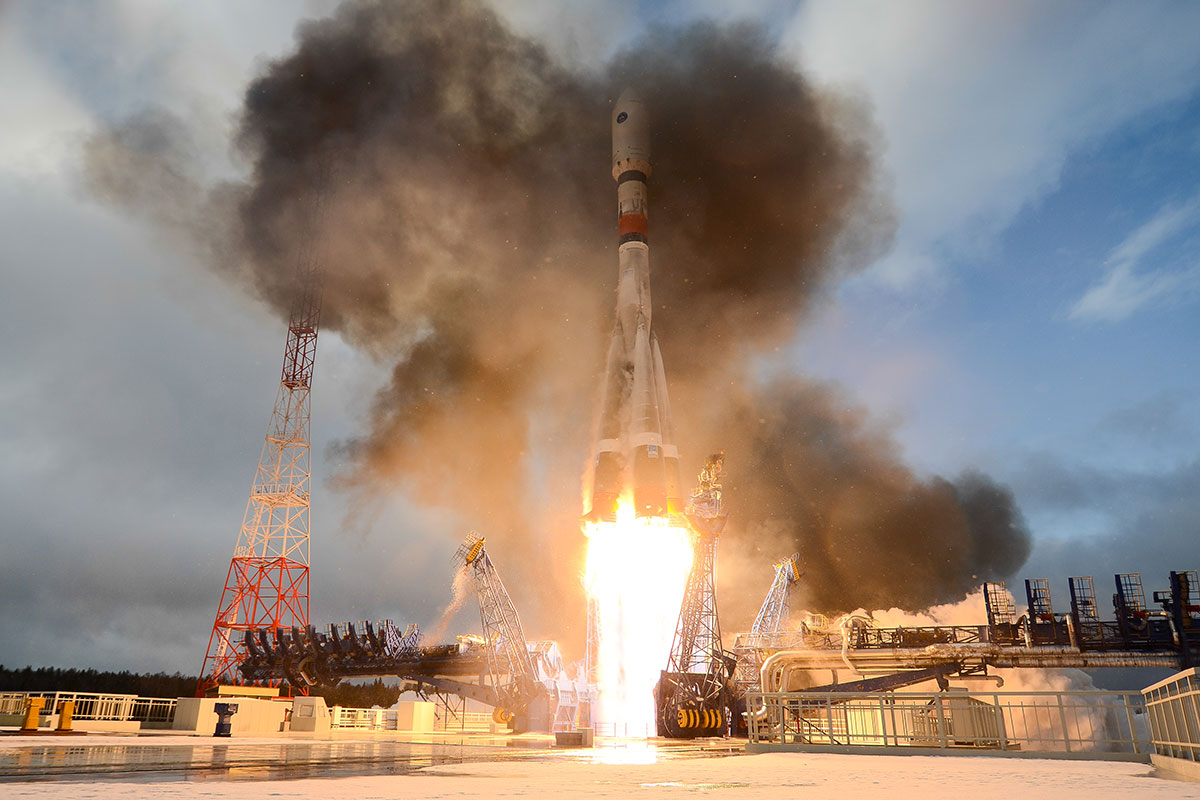 Russia Carries Out First Space Launch From Plesetsk Cosmodrome in 2020