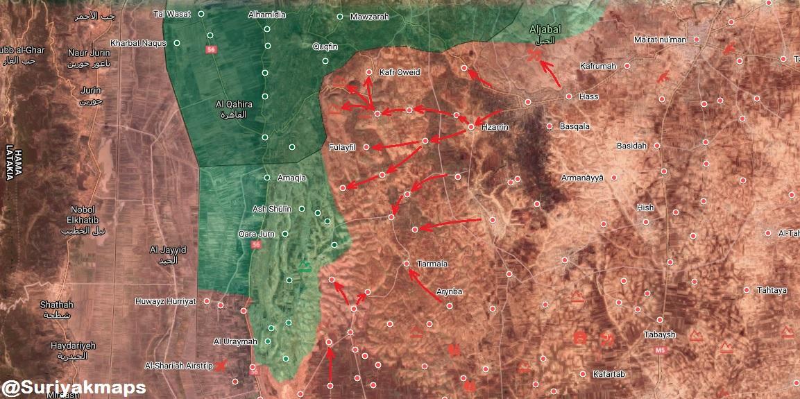 Sýrska Armáda Sa Uvoľňuje Kafar Aweed, Ukladá Požiarnej Al-Ghab Obyčajný