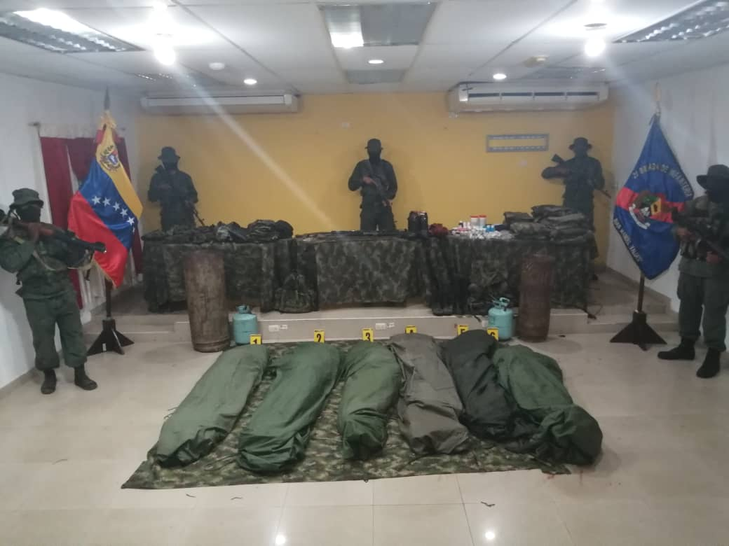 """Venezuelan Armed Forces Killed 6-Man Suspected """"Colombian Paramilitary Force"""""""