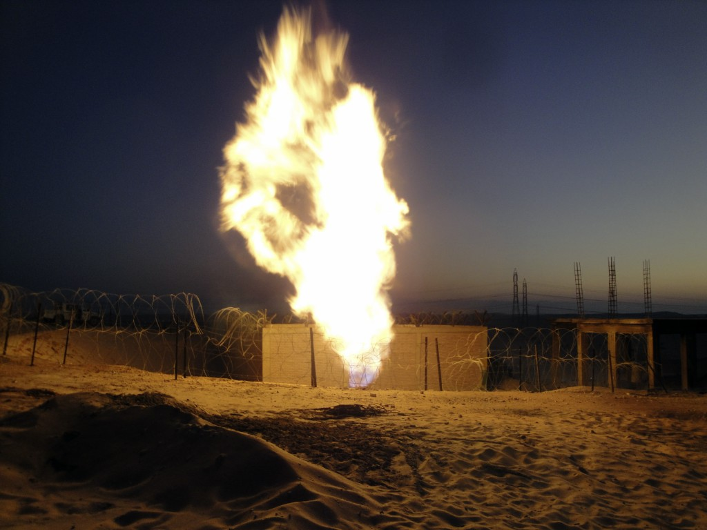 Militants Blew Up Egypt-Israel Pipeline in Northern Sinai: Reports