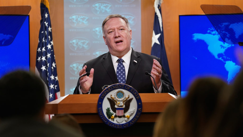 Coronavirus Forces U.S. To Pull Some Troops Out Of Iraq. Pompeo Blames Russia For Coronavirus Hysteria